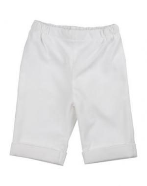 Повседневные брюки COLIBRI. Цвет: белый