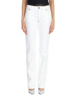 Джинсовые брюки RICHMOND DENIM. Цвет: белый