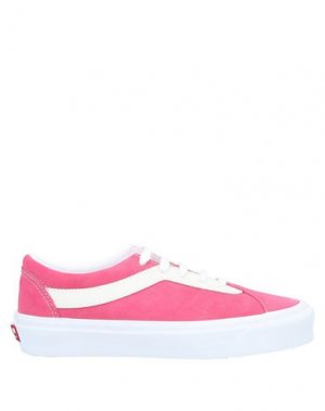 Низкие кеды и кроссовки VANS. Цвет: розовый