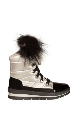 Ботинки Jog Dog. Цвет: серебро