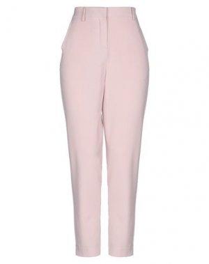 Повседневные брюки B.YOUNG. Цвет: розовый