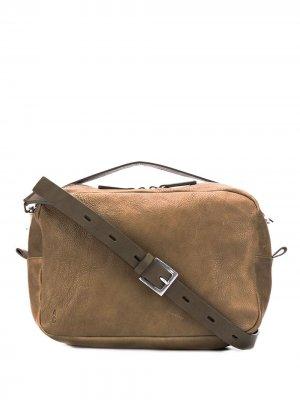 Большая сумка через плечо Leila Ally Capellino. Цвет: зеленый