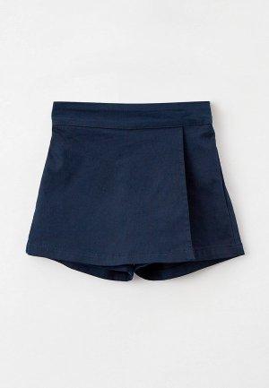 Юбка-шорты Koton. Цвет: синий