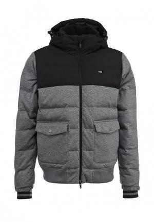 Пуховик K1X lux first pick down jacket. Цвет: серый