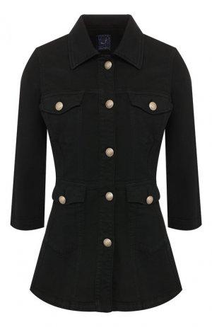 Джинсовая куртка Jacob Cohen. Цвет: черный