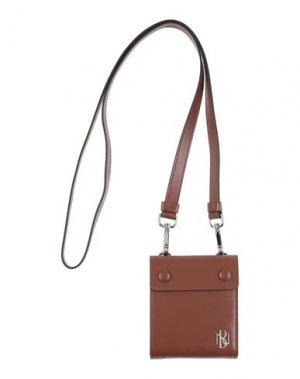 Бумажник NEIL BARRETT. Цвет: коричневый