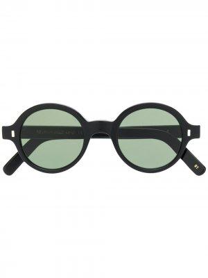 Солнцезащитные очки Reunion в круглой оправе L.G.R. Цвет: черный