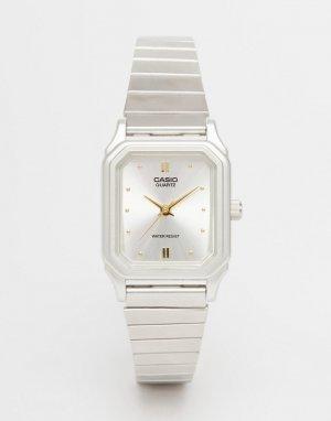 Часы в винтажном стиле LQ 400D 7AEF-Серебристый Casio