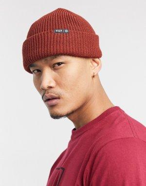 Красная шапка-бини Essentials Usual-Красный HUF