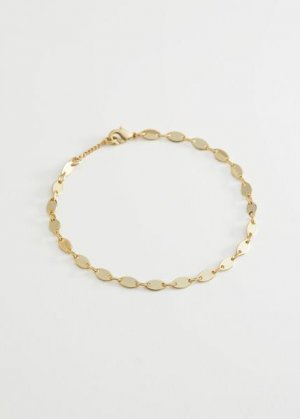 Oval Pendant Chain Bracelet &Other Stories. Цвет: золотистый