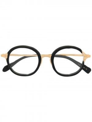 Round-frame glasses MASAHIROMARUYAMA. Цвет: черный