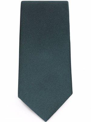 Шелковый галстук Dolce & Gabbana. Цвет: синий