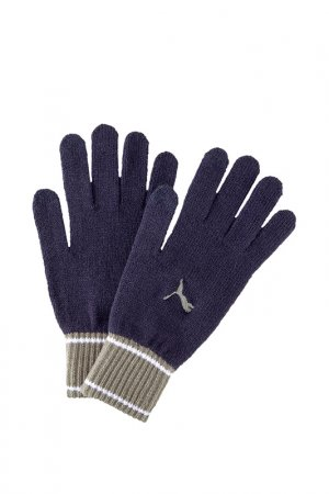 Перчатки Puma. Цвет: синий