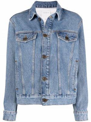 Джинсовая куртка Iris Sandro Paris. Цвет: синий