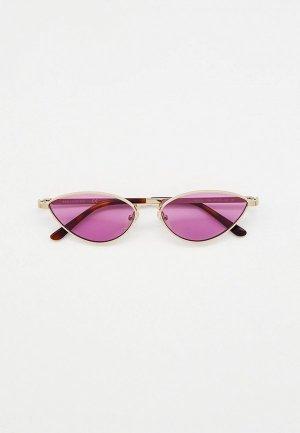 Очки солнцезащитные Karl Lagerfeld KL 313S 709. Цвет: серебряный