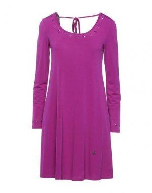 Короткое платье GAUDÌ. Цвет: розовато-лиловый