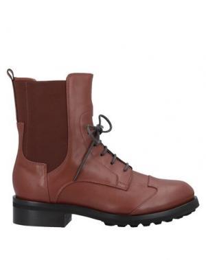 Полусапоги и высокие ботинки ALBERTO FERMANI. Цвет: коричневый