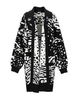 Легкое пальто EMANUEL UNGARO. Цвет: черный