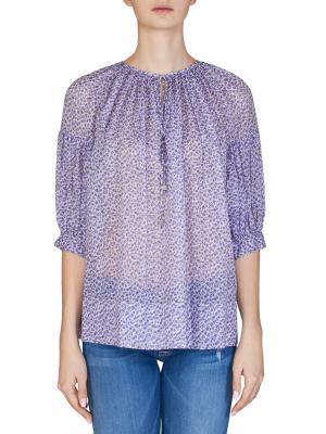 Блуза MICHAEL KORS. Цвет: сиреневый