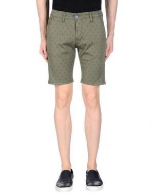 Повседневные шорты EXCLUSIVE. Цвет: зеленый-милитари