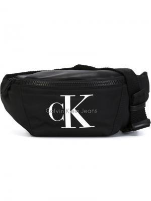 Кошельки и визитницы Calvin Klein Jeans. Цвет: чёрный