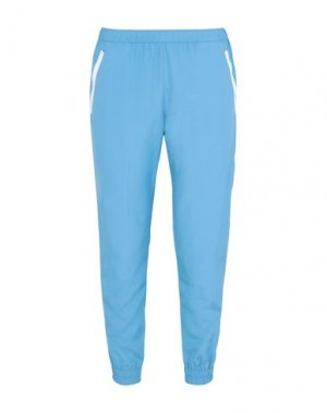 Повседневные брюки MARIOS. Цвет: лазурный
