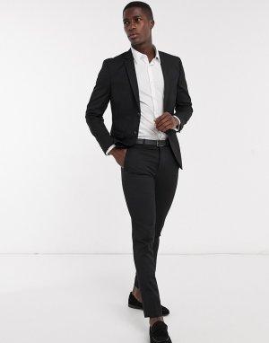 Черный пиджак узкого кроя Premium-Черный цвет Jack & Jones