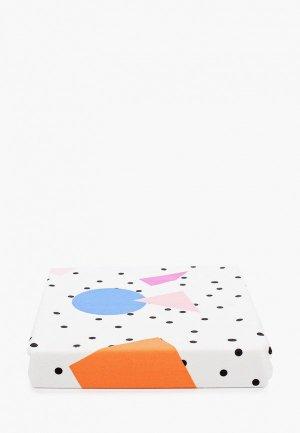 Плед Заяц на подушке «Мемфис», 80х120 см. Цвет: белый