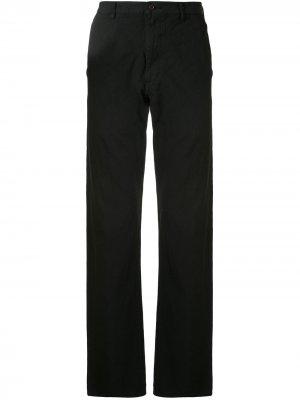 Прямые брюки Comme Des Garçons Homme Plus. Цвет: черный
