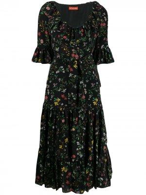 Платье макси с цветочным принтом Altuzarra