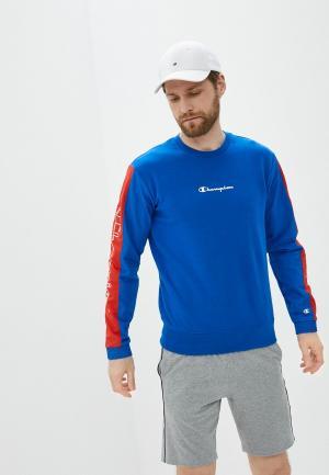 Свитшот Champion LEGACY Crewneck Sweatshirt. Цвет: синий
