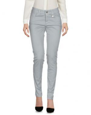 Повседневные брюки ANNA RACHELE. Цвет: серый