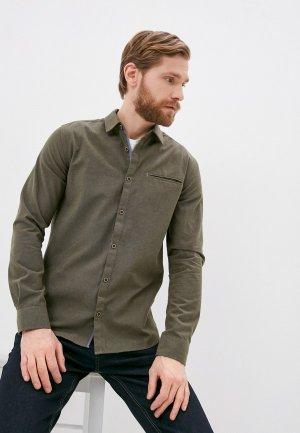 Рубашка Indicode Jeans Stefan. Цвет: хаки