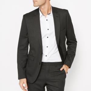 Пиджак костюмный приталенного покроя ACHILLE LA REDOUTE COLLECTIONS. Цвет: антрацит,темно-синий