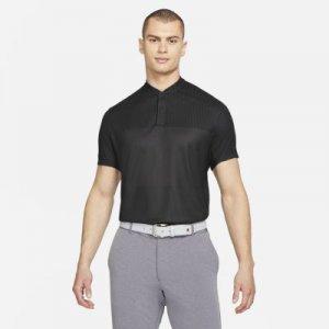 Мужская рубашка-поло для гольфа Dri-FIT ADV Tiger Woods - Черный Nike