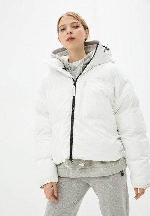 Куртка утепленная adidas by Stella McCartney ASMC SH PUFFER. Цвет: белый