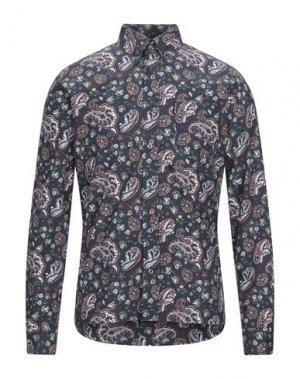 Pубашка BEN SHERMAN. Цвет: темно-синий