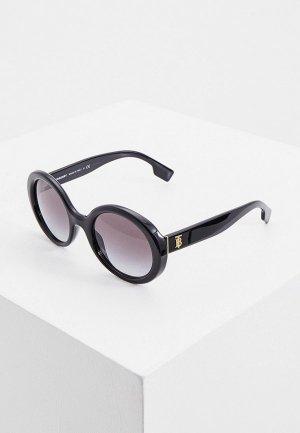 Очки солнцезащитные Burberry BE4314 30018G. Цвет: черный