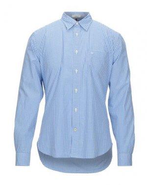 Pубашка DOCKERS. Цвет: лазурный