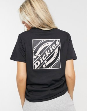 Черная футболка с принтом на спине FNB Box-Черный цвет Dickies