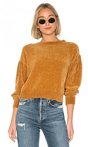 Пуловер zeeta Lovers + Friends. Цвет: коричневый