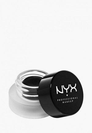 Подводка для глаз Nyx Professional Makeup Epic Black Mousse Liner оттенок 01, Black, 3 г. Цвет: черный