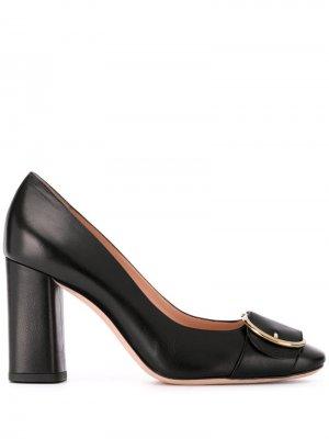 Туфли-лодочки Claire на массивном каблуке Bally. Цвет: черный