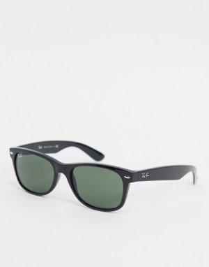 Солнцезащитные очки-вайфареры с оправой среднего размера Ray-Ban