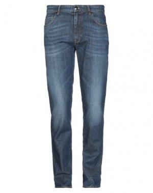 Джинсовые брюки MASON'S. Цвет: синий