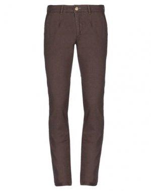Повседневные брюки HAVANA & CO.. Цвет: темно-коричневый