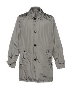 Легкое пальто AQUASCUTUM. Цвет: свинцово-серый