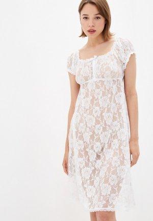 Сорочка ночная Gorsenia. Цвет: белый