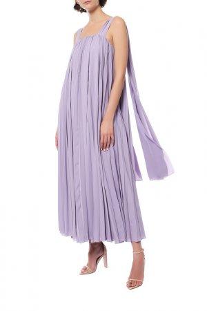 Платье Elie Saab. Цвет: фиолетовый
