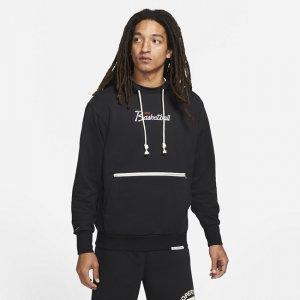 Мужская баскетбольная худи Dri-FIT Standard Issue - Черный Nike